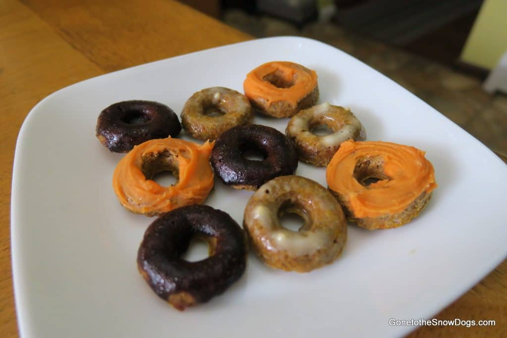 DIY Mini Doggy Doughnuts
