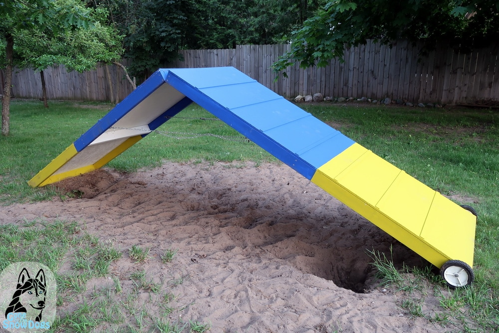DIY A-Frame For Backyard Agility - Gone to the Snow Dogs | Siberian ...