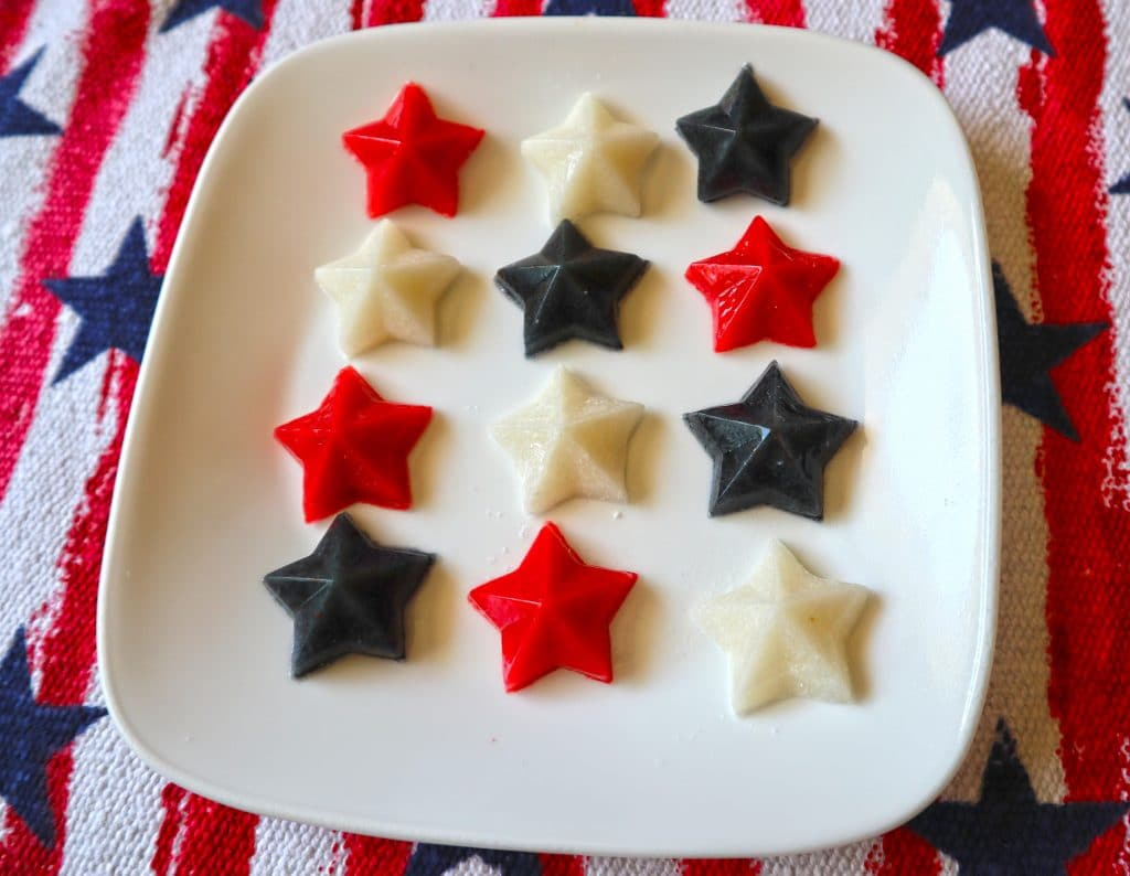 DIY Gummy Dog Treats for 4th of july